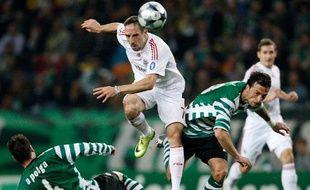 On n'arrête pas un Franck Ribéry déterminé. Le Français du Bayern s'offre un doublé et noie en partie tous les espoirs de qualification du Sporting, balayé 5-0 chez lui par les Bavarois.