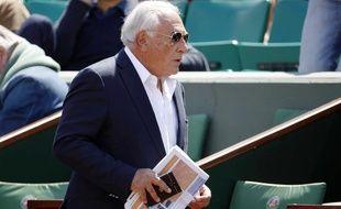 DSK à Roland-Garros, le 30 mai 2015.