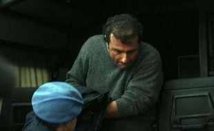 Le commandant du Costa Concordia Francesco Schettino, à sa sortie du tribunal de Grosseto, le 17 janvier 2012.