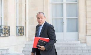 Laurent Berger, secrétaire général de la CFDT, le 24 juin 2020 à l'Elysée.