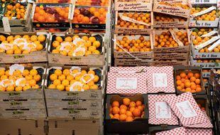 Les fruits et légumes au marché de Rungis. (illustration)