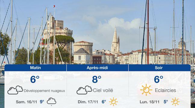 Météo La Rochelle: Prévisions du vendredi 15 novembre 2019 - 20minutes.fr