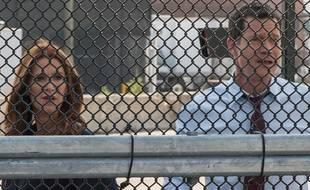 Poppy Montgomery et Dylan Walsh dans la saison 3 de Unforgettable.