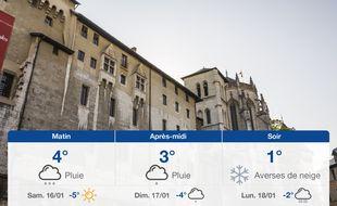 Météo Chambéry: Prévisions du vendredi 15 janvier 2021