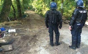 Les gendarmes doivent rester sur le site de la ZAD de Kolbsheim pendant que les travaux préparatoires vont être engagés sur ce site, comme à Vendenheim.