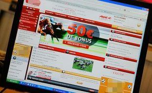 Illustration des jeux de pari en ligne.