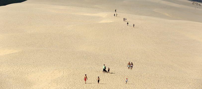 La dune du Pilat explose ses chiffres de fréquentation.