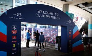 Les spectateurs ne pourront plus venir avec des sacs à Wembley, a annoncé la Fédération anglaise le 26 octobre 2018.