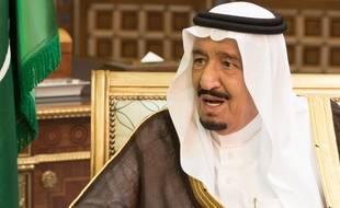 Le roi d'Arabie saoudite Salmane Al-Saoud, le 13 octobre 2015 à Ryad