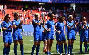 La déception des Italiennes après leur élimination en quart de finale du Mondial