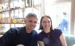 Christophe Adam a reçu 20Minutes et sa lectrice Valérie L. au Dépôt Légal