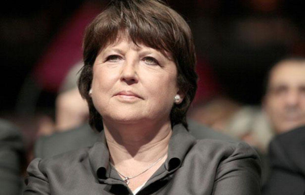 Martine Aubry à Lille, le 7 juin 2012. – BAZIZ CHIBANE/SIPA