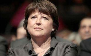 Martine Aubry à Lille, le 7 juin 2012.