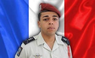 Photo diffusée par l'armée française le 23 juillet 2020 montrant le brigadier Tojohasina Razafintsalama, tué au Mali par un véhicule suicide.