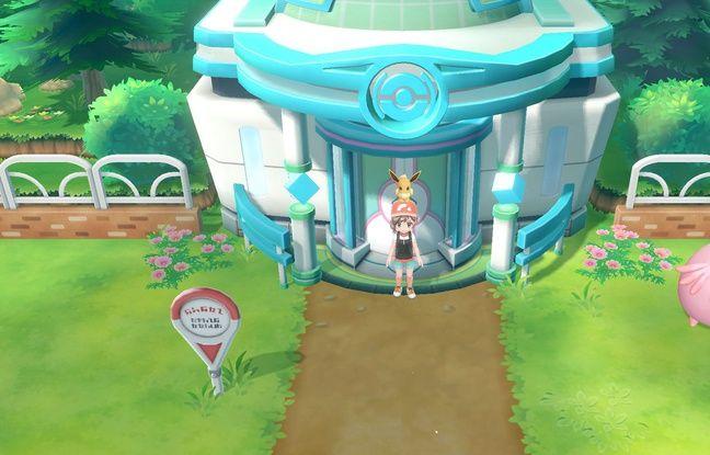 Bienvenue dans le Go Park. Comptez plusieurs heures de jeu avant de pouvoir connecter Pokémon Go à Let's Go et transférer vos pokémon.