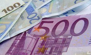 Illustration billet de 500 euros