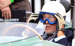 Le pilote britannique Stirling Moss, quatre fois vice-champion du monde de Formule 1, est décédé le 12 avril 2020. (Archives)
