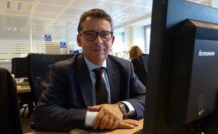 Frédéric Aziza à la rédaction de 20 Minutes