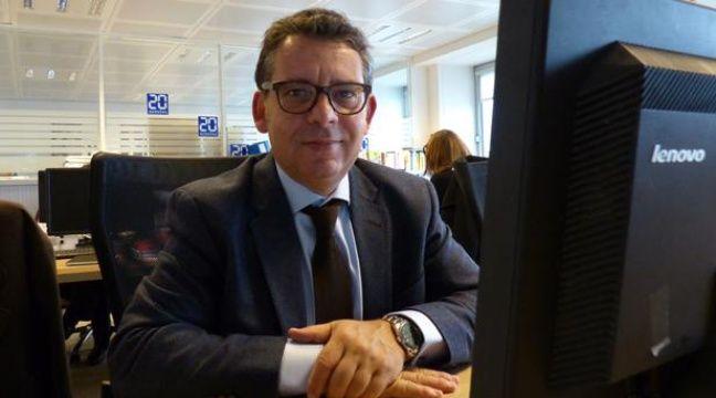 Frédéric Aziza à la rédaction de 20 Minutes – C.GONTHIER // 20 MINUTES