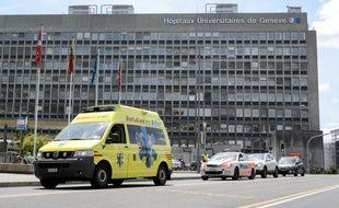 L'hôpital suisse de Genève lors de la précédente venue de Bouteflika en 2015.
