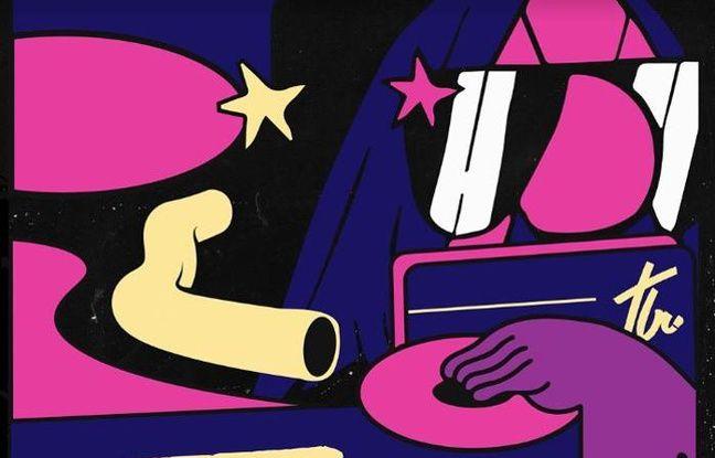 Moustachu multicolore pour la soirée du 20 février au Jean Louis La Nuit