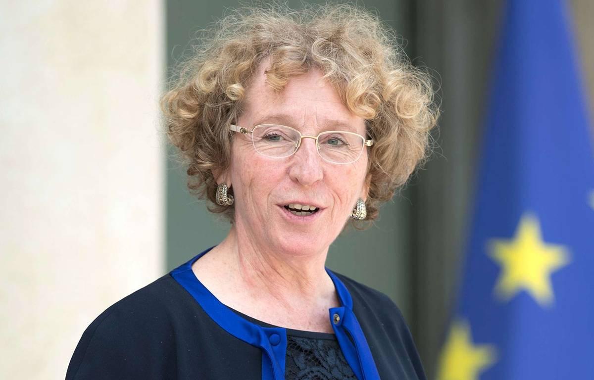Muriel Pénicaud, ministre du Travail, le 30 mai 2017 à l'Elysée. – David Niviere/SIPA