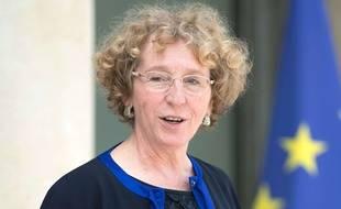 Muriel Pénicaud, ministre du Travail, le 30 mai 2017 à l'Elysée.