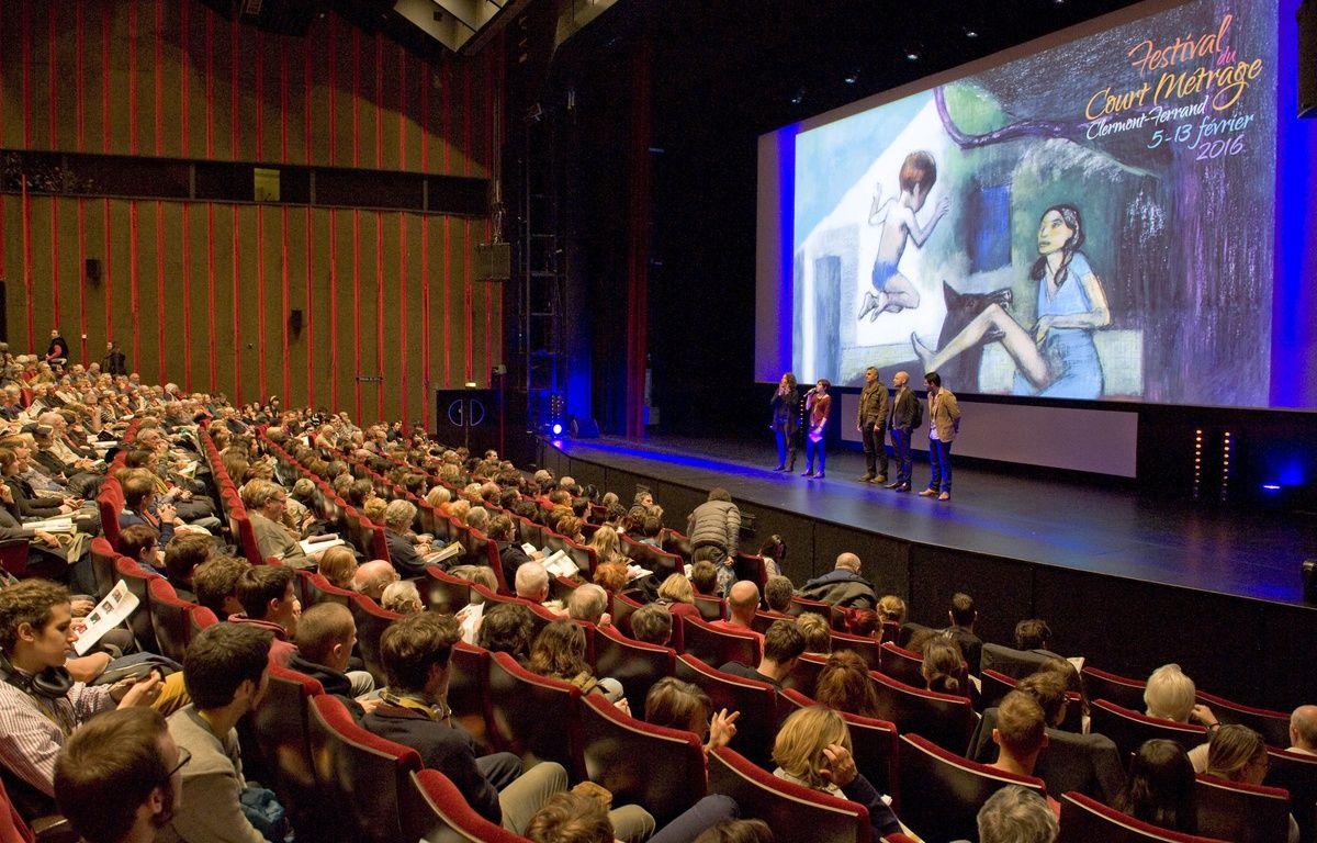 Le 7 février 2016, avant une séance du 38e Festival international du court métrage de Clermont-Ferrand. – Thierry Zoccolan / AFP