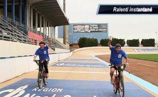 Le Friday sport teste sa giclette sur Paris-Roubaix.