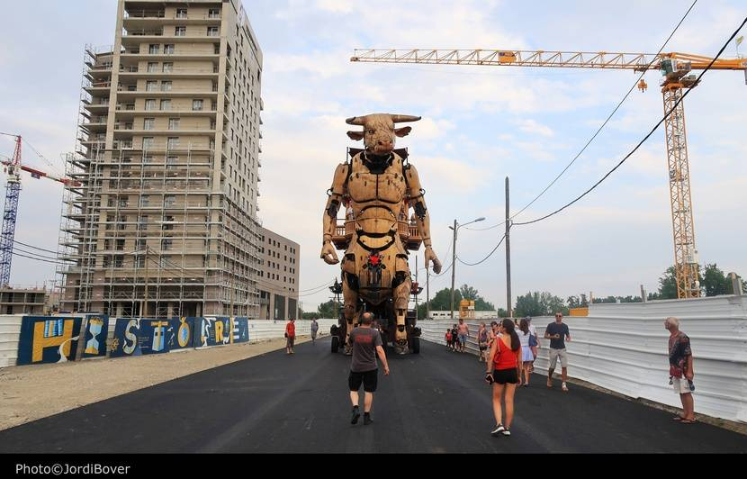 Toulouse: Le Minotaure fait le plein (malgré son coup de chaud lié à la canicule) et prolonge l'été