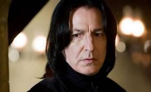L'acteur Alan Rickman dans la saga «Harry Potter»