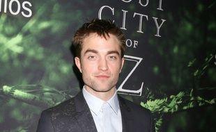 L'acteur Robert Pattinson à la première de