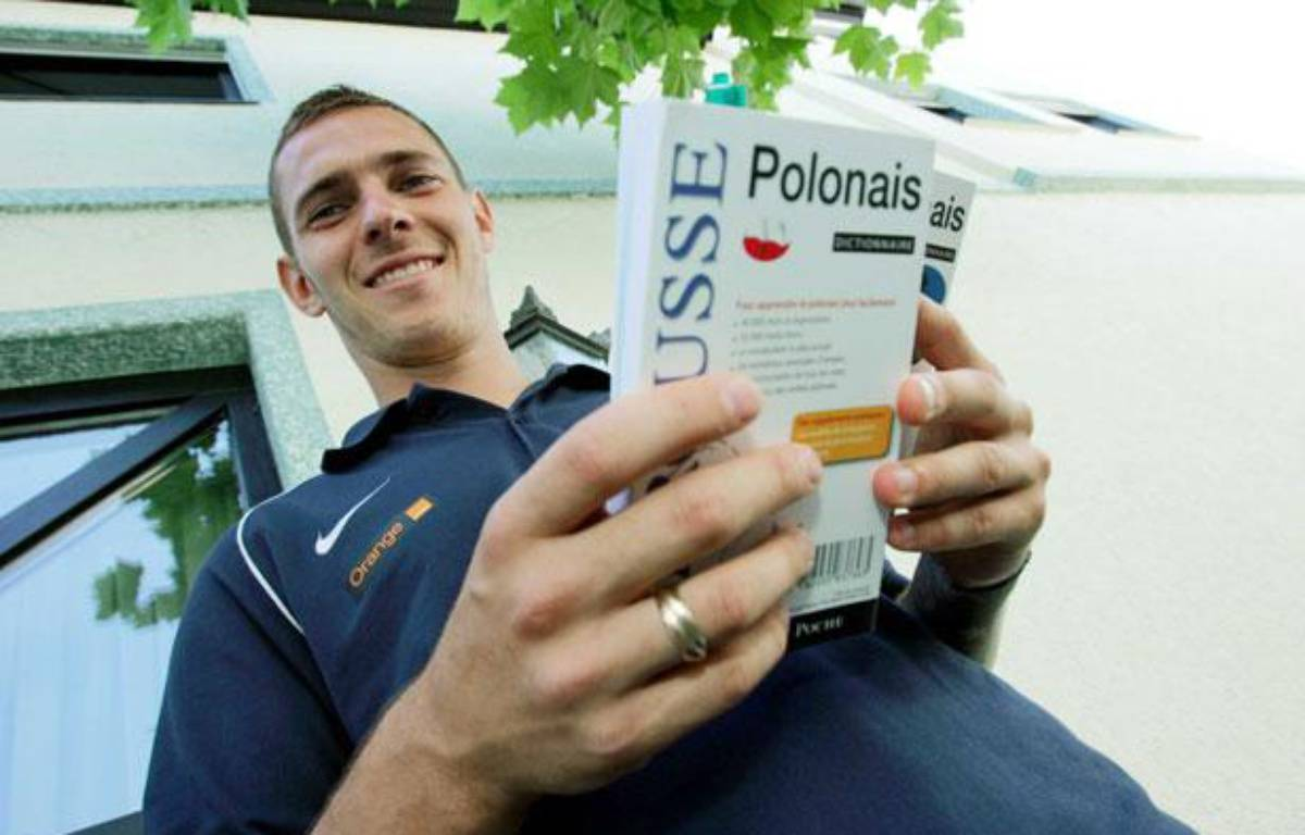 Ludovic Obraniak en juin 2009 au moment de sa première sélection avec la Pologne, le  – EAST NEWS/SIPA