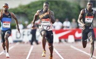 Le Britannique Dwain Chambers a remporté le 100 m et le 200 m.
