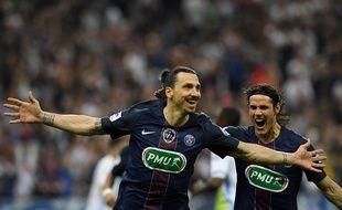 Zlatan Ibrahimovic, le 21 mai 2016, au Stade de France.