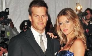 Tom Brady et Gisele Bündchen.