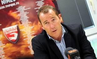 Jean-Marc Conrad, le président du club de Nîmes Olympique, a été placé en garde à vue dans le cadre d'une enquête sur des soupçons de matchs truqués, le 18 novembre 2014.