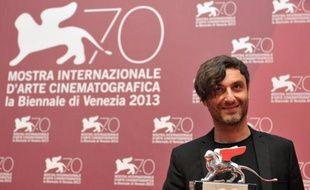 """Le réalisateur grec Alexandros Avranas, 36 ans, qui a remporté le 7 septembre 2013 le lion d'argent du meilleur réalisateur au festival de Venise avec """"Miss Violence"""""""