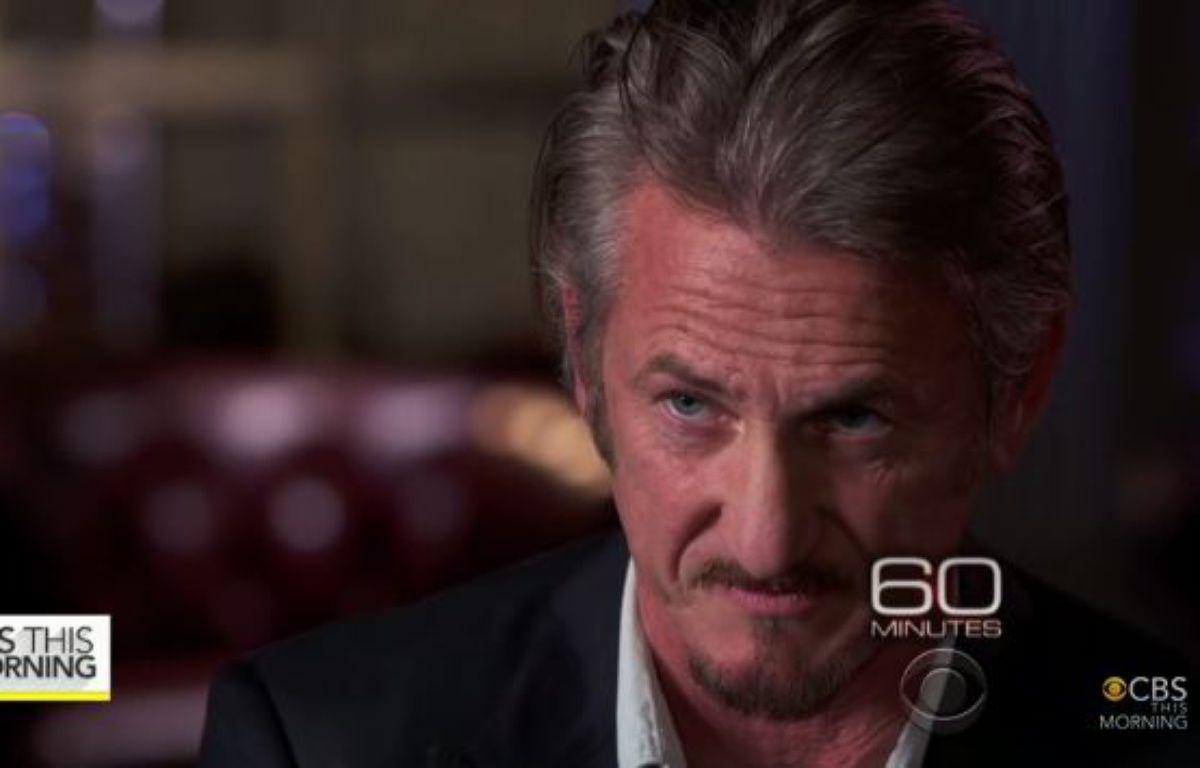 Sean Penn dans l'émission «60 Minutes», le 17 janvier 2016. – CBS