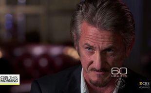 Sean Penn dans l'émission «60 Minutes», le 17 janvier 2016.