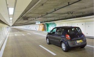 La traversée du tunnel A 86 aura duré 6 minutes. Avant, il fallait entre 20 et 45 minutes.
