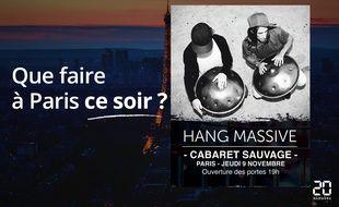 Hang Massive jouera ce soir au Cabaret Sauvage.