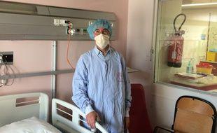 Le professeur Yves Perel, chef du pôle de pédiatrie et praticien hospitalier au sein de l'unité d'hématologie pédiatrique.
