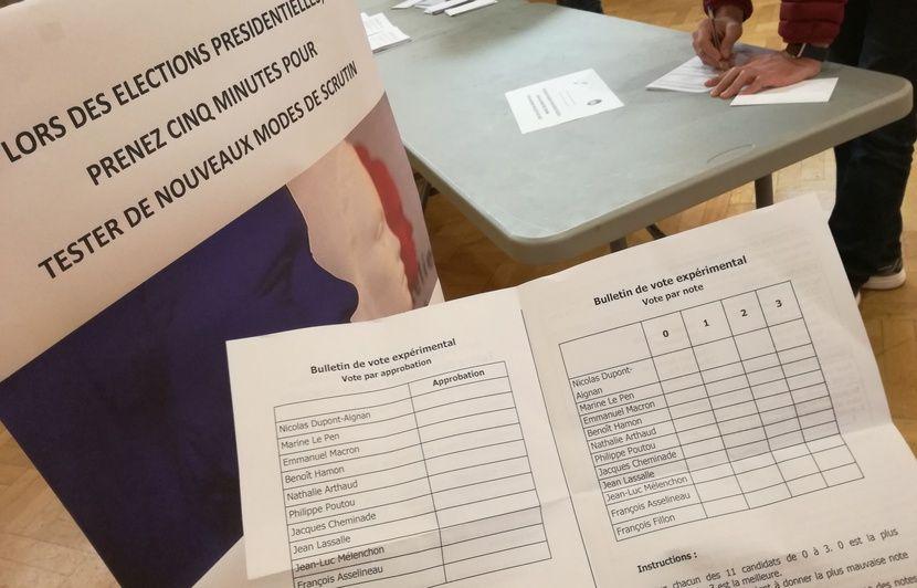 Strasbourg des modes de scrutin par notation testés par des