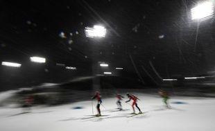 Le relais féminin de biathlon à Pyeongchang