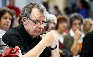 Jean François Grelier président de l'association des sinistrés du 21 septembre, lors du second procès AZF.