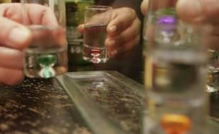 Une soirée alcoolisée dans un bar de Toulousee