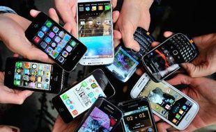 Des smartphones