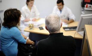 Illustration d'une consultation médicale.