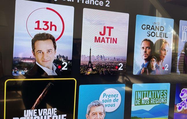 Les classiques offres Replay que l'on trouve sur les téléviseurs ne sont pas accessibles.
